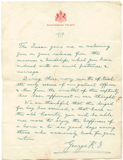 Pearcey S -Letter Sample Buckingham Palace