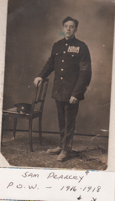 Pearcey, Samuel, POW 1916-1918